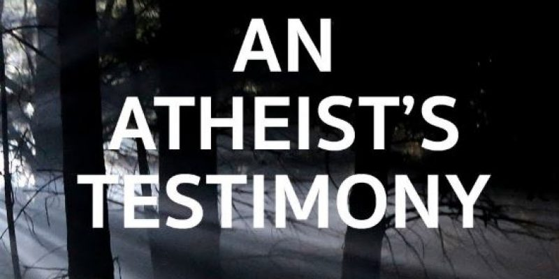 Atheist's journey towards God